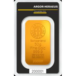 Lingotin 50 g Heraeus