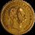 10 Francs / 4 Forint François Joseph 1877
