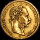 20 Francs / 8 Forint François Joseph 1887