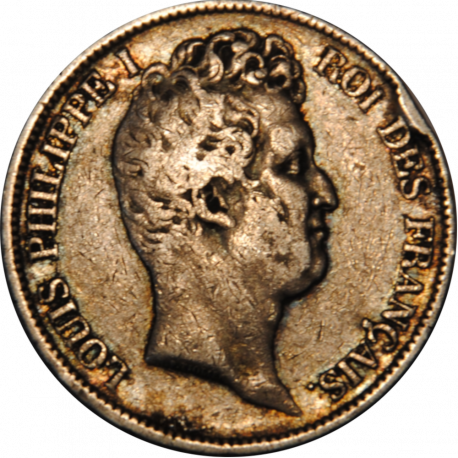 5 Francs Ecu Louis-Philippe 1831 D
