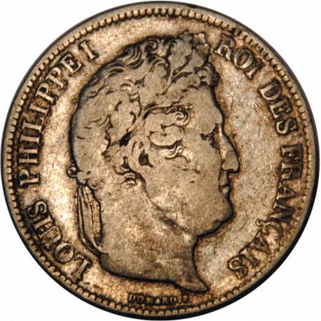 5 Francs Ecu Louis-Philippe 1833 MA