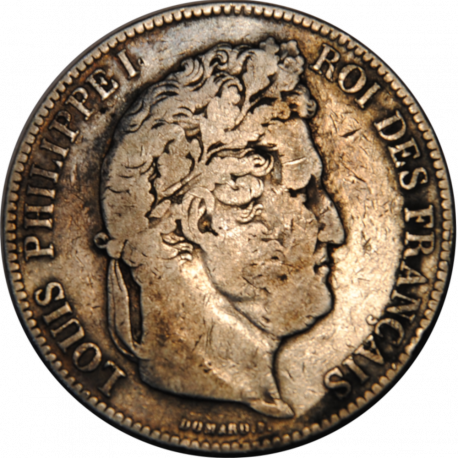 5 Francs Ecu Louis-Philippe 1843 B