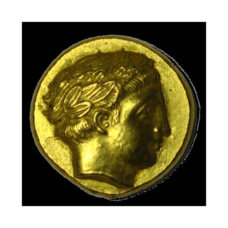 ROYAUME DE MACÉDOINE - PHILIPPE II Statère d'or 340-328 AC