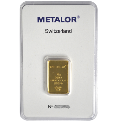 Lingotin 10 g Metalor