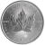 Maple Leaf 1 Argent OZ
