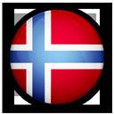 Drapeau Couronne Norvège NOK
